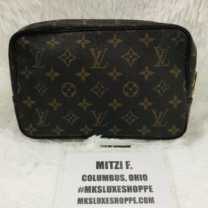 LOUIS VUITTON  MONO TROUSSE 23 881TH